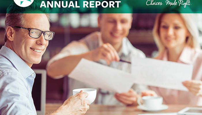 2018 Annual Report Banner Page